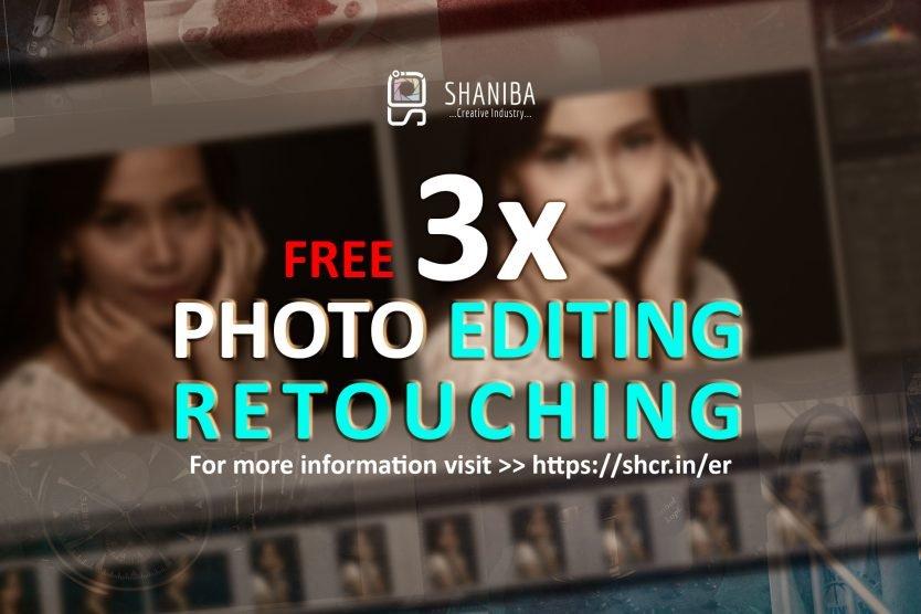 Promo free editing retouching Shaniba Creative Industry