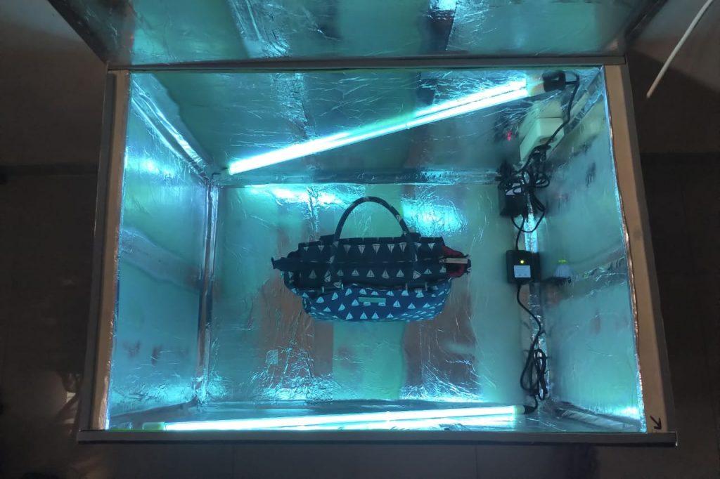 Sterilisasi Sampel Produk Menggunakan UV-C - Shaniba Creative Industry