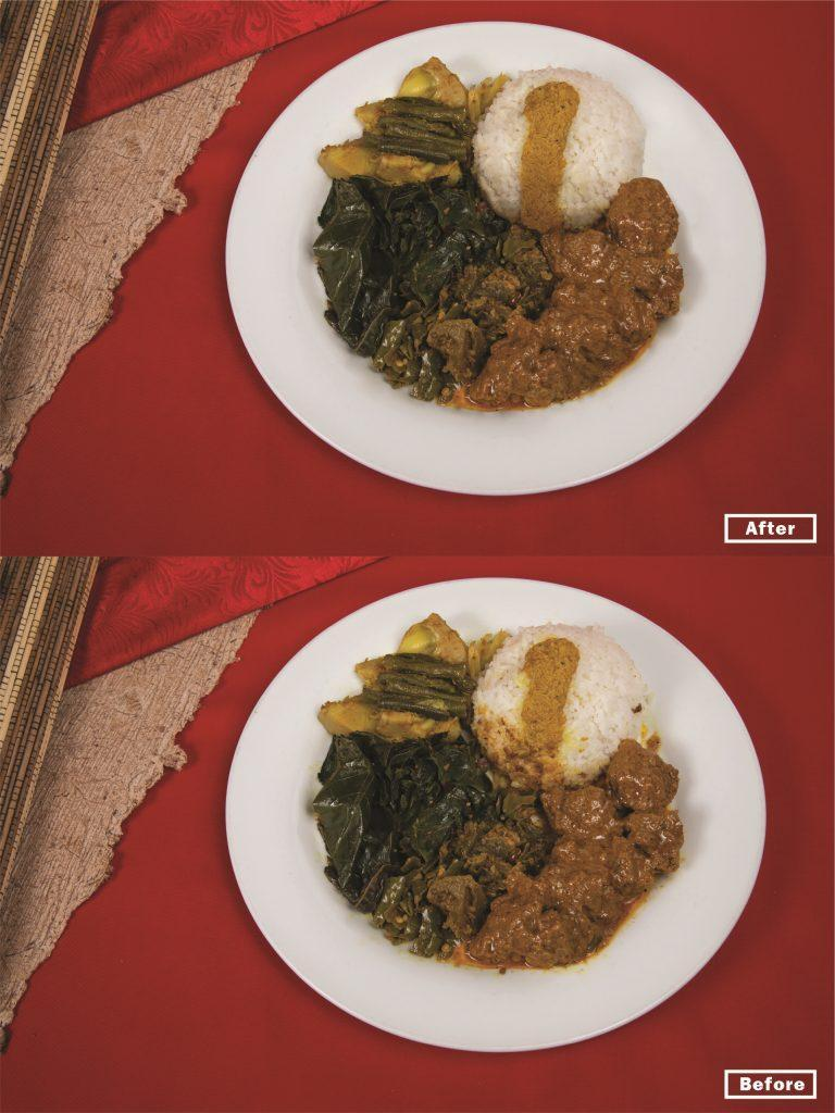 Editing Produk Hidangan Masakan - Shaniba Creative Industry