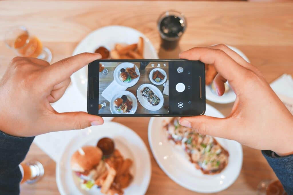 Membuat Foto Produk Masakan dengan Baik