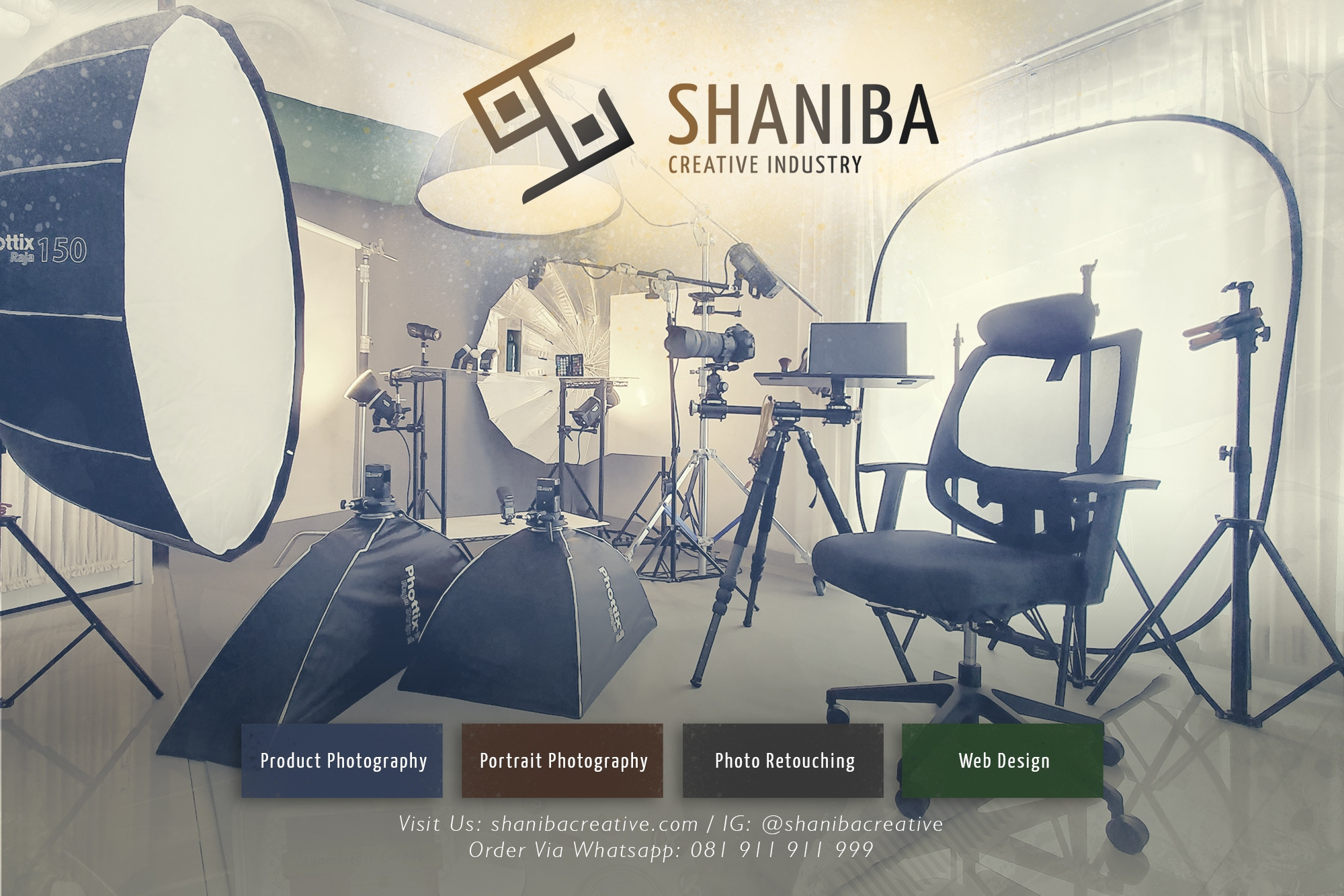 Studio Fotografi Shaniba Creative Industry - Jasa Foto Produk, Jasa Foto Portrait, & Jasa Edit Foto